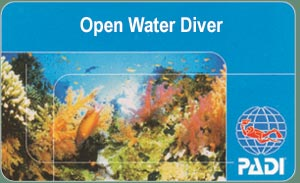 PADI Diving Course - Open Water Diver